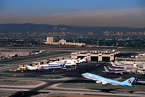 Los Angeles Aerial Photographer LAX