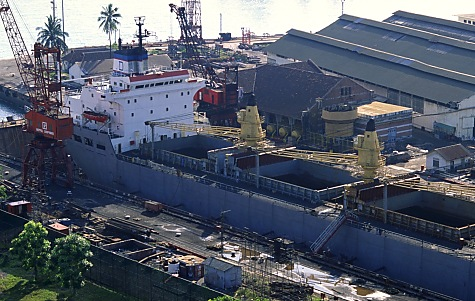 Aerial Photography Los Angeles Aerial View of the Port of Los Angeles Harbor