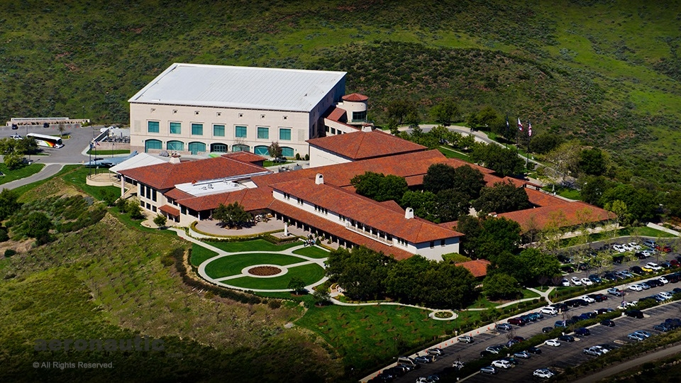 Ronald Reagan Presidential Library - Ventura County Aerial Photo Picture