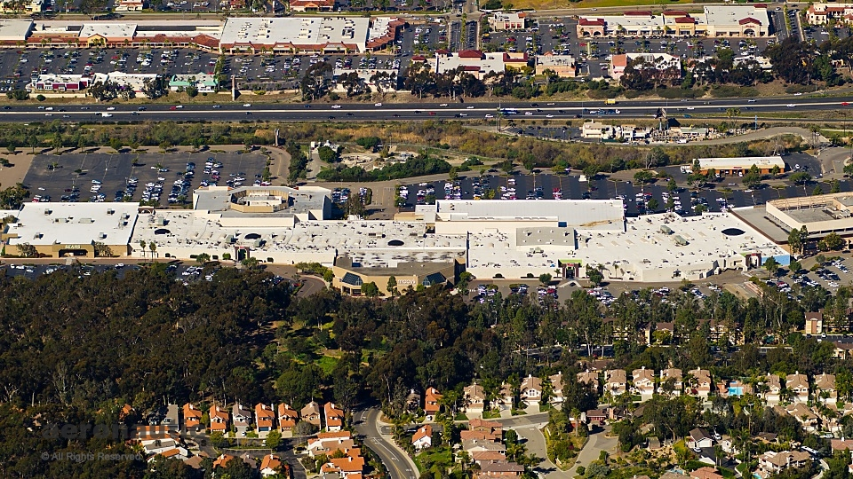 Aerial Photography San Diego - Westfield Mall - Carlsbad
