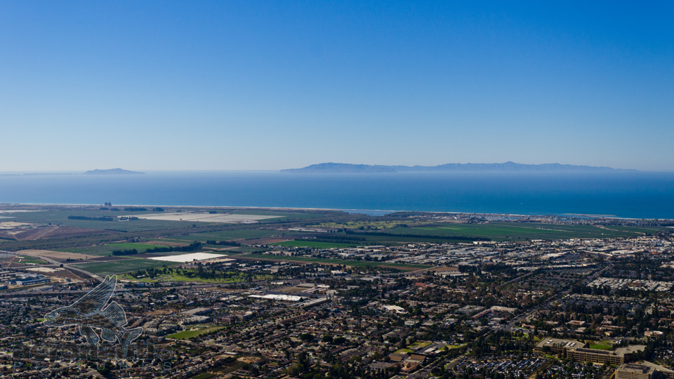 Aerial Photography Ventura - Golf - Beach - Channel Islands
