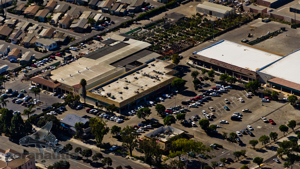 Aerial Photography of Ventura Trader Joe's on Victoria