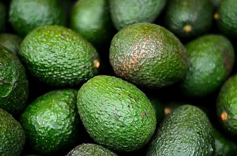 Hass Avocado Stock Photo