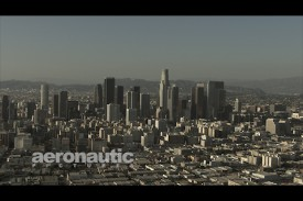 Los Angeles Aerial Stock Footage HD Downtown LA Skyscrapers
