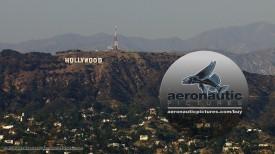 Los Angeles Aerial Stock Footage HD Hollywood Sign - Cineflex