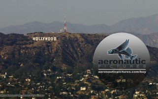 Los Angeles Aerial Stock Footage HD Hollywood Sign - Cineflex