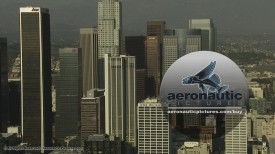 Los Angeles Aerial Stock Footage HD Downtown LA
