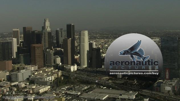 Los Angeles Aerial Stock Footage HD Cineflex