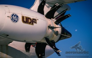 UDF - UHB Experimental Jet Engine Stock Photo