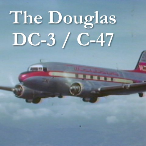 Buy Douglas DC-3 C-47 Skytrain Dakota Airplane Stock Footage