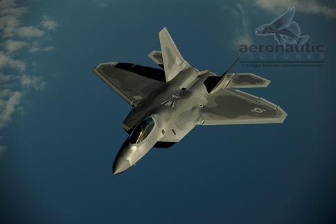 Military Stock Photos - F-22 Raptor Stock Photo - Air to Air