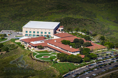 Reagan Library Aerial View Stock Photos