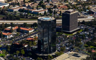 Aerial Stock Photos - Oxnard Financial Plaza Towers Aerial View