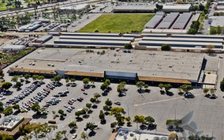 Kmart Victoria Avenue Ventura - Now Walmart - Aerial View - Ventura Stock Photos
