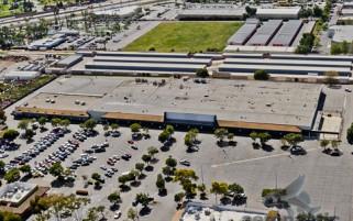 Kmart Victoria Avenue Ventura - Now Walmart - Aerial View - Ventura Stock Photos