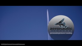 Motion Backgrounds Contrail HD Stock Footage Royalty Free