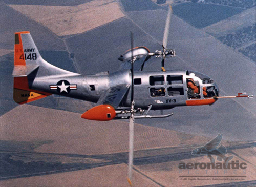 Tilt rotor history Bell XV-3 Documentary Video Picture