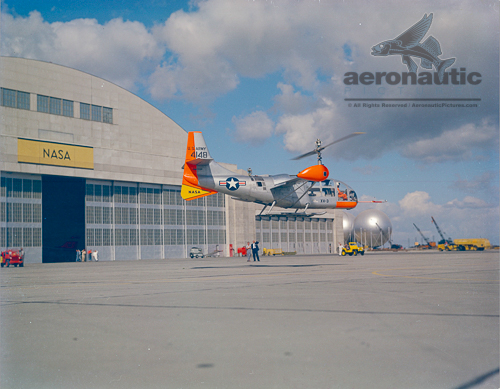 Bell XV-3 Convertiplane Picture - Tilt Rotor History Documentary