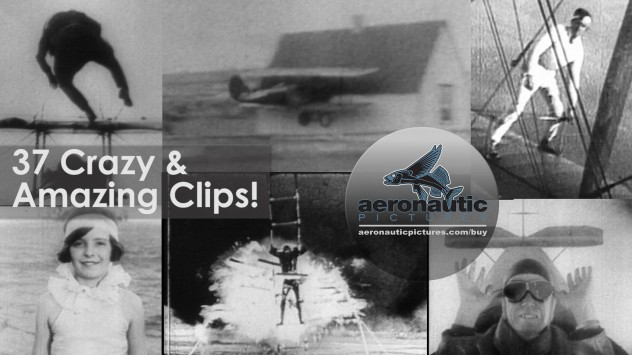 Barnstorming Stock Footage - Daring Men Collection Download! Airplane Stock Footage