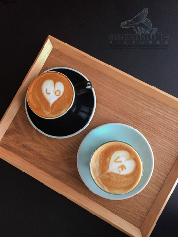 Coffee Stock Photo - Hearts Love Latte Art - Food Stock Photos