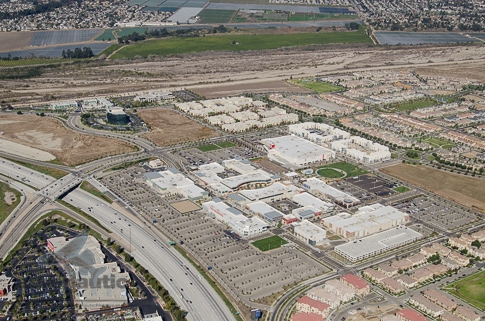 Aerial View Oxnard RiverPark and the Collection Mall - Aerial Photography Los Angeles