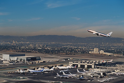 Los Angeles International Airport - LAX Aerial View