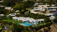 Aerial View Hillside Mansion – Aerial Photography Los Angeles