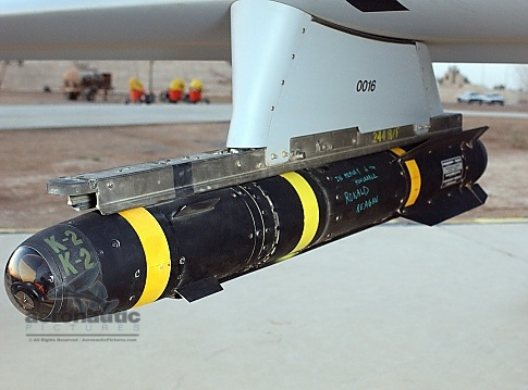 Military Stock Photos - AGM-114 - Hellfire Missile - MQ-1 Predator UAV Drone