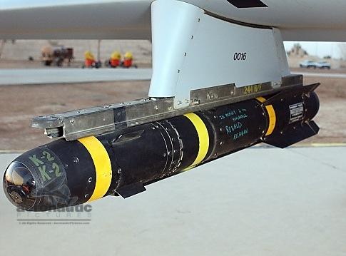 Military Stock Photos - AGM-114 - Hellfire Missile - MQ-1 Predator UAV Drone