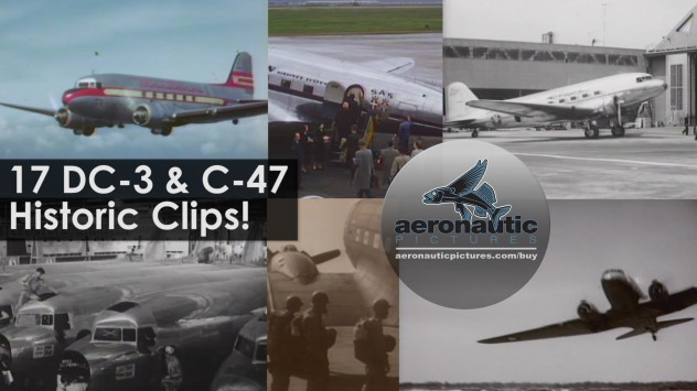 Airplane Stock Footage Douglas DC-3 C-47 Skytrain Dakota Download