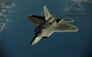 Military Stock Photos - F-22 Raptor Stock Photo - Air to Air