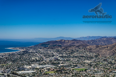 Midtown Ventura To Downtown Aerial View - Ventura Stock Photos