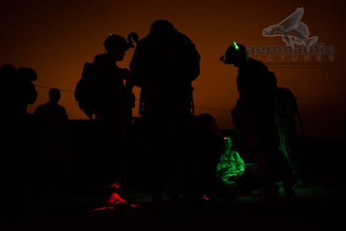 Soldiers Night Military Stock Photos