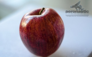 Apple Stock Images - Organic Gala Apple Stock Photo