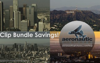 Los Angeles Aerial Stock Footage HD Bundle Download