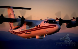Airplane Stock Photos RC-7B Crazy Hawk de Havilland Dash-7 DHC-7