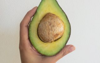 Avocado Stock Photo - Avocado in Hand - Food Stock Photos