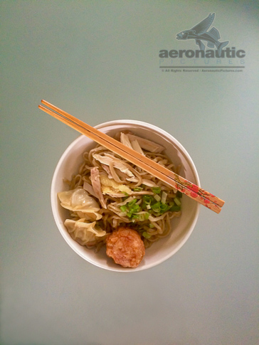 Food Stock Photo - Bowl of Noodles with Chopsticks - Download Now!