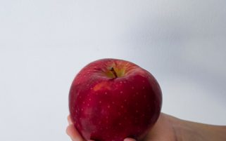 Food Stock Photo - An Apple in a Child's Hand Royalty Free Download