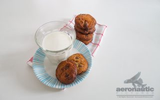 Food Stock Photo - A Glass of Milk and a Stack of Cookies Download Royalty Free